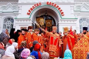 Престольный праздник Иверского храма. Фоторепортаж