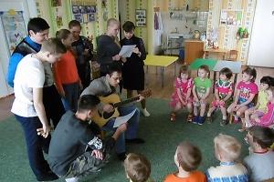 Православные волонтеры посетил мценский детский дом для дошкольников
