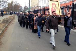 Крестный ход в праздник Казанской иконе Божией Матери