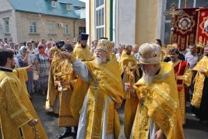 Орловская митрополия отметила день памяти  равноапостольного князя Владимира