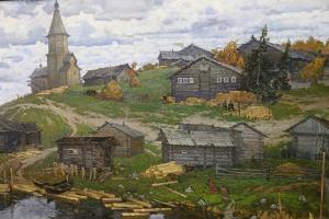 В Орле открылась выставка ученицы Ильи Глазунова Анны Грибановой о храмах и жизн