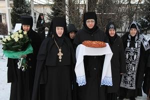 Великое освящение Введенского храма в Свято-Введенском монастыре Орла. Фоторепор