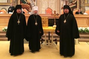 Архипастыри Орловской митрополии участвуют в работе Архиерейского Собора Русской