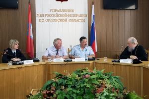Управляющий Орловской митрополией принял участие в заседании Общественного совет