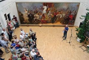 В Орле открылась выставка известного православного художника Анатолия Костяннико