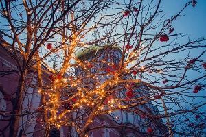 В Рождественский сочельник митрополит Антоний совершил литургию в храме Смоленской иконы Божией Матери