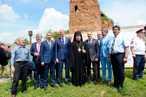 В Новодеревеньковском районе Орловской области будет возрожден храм Казанской ик