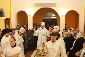 В селе Корсаково освящен Покровский храм