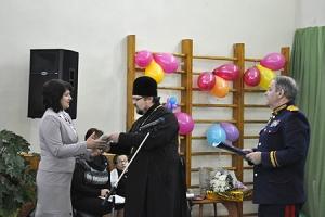 Представители Орловской епархии поздравили коллектив и воспитанников Болховского дома-интерната с 70-летием