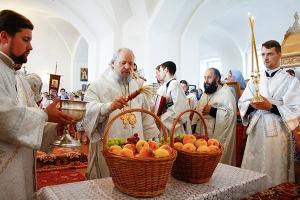 В праздник Преображения Господня митрополит Антоний возглавил литургию в Спасо-П