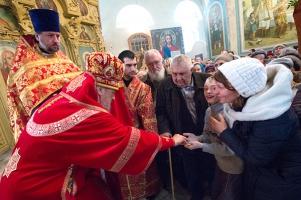 В праздник Собора Архистратига Михаила и прочих Небесных Сил бесплотных митропол