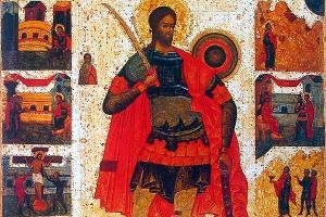В день памяти великомученика Никиты в Ахтырском соборе отметили престольный праз