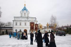 В Свято-Введенском женском монастыре Орла отметили престольный праздник