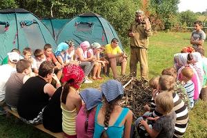 В Хотынецком районе пройдет смена православного лагеря «Символик»