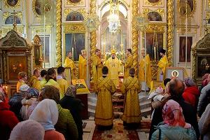 В день памяти святого адмирала Феодора Ушакова митрополит Антоний совершил Божес