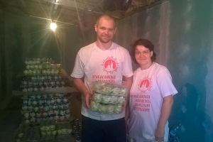 Более 1000 человек получили продуктовую помощь в рамках очередной акции Орловско