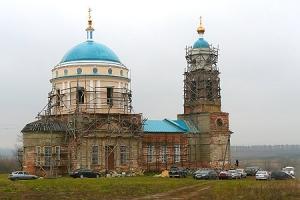 Престольный праздник в селе Паслово