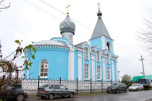 Архиерейская литургия в Успенском храме Тросны в праздник Казанской иконы Божией