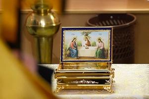 В Лазареву субботу горожане смогут поклониться мощам Лазаря Четверодневного
