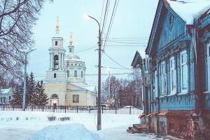Второе богослужение с чином Пассии совершено в Михаило-Архангельском храме Орла