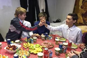 Воспитанники орловского интерната приняли участие в пасхальном празднике