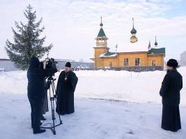 Архиепископ Пантелеимон поздравил заключенных Шаховской колонии с Рождеством Христовым