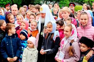 Обращение Святейшего Патриарха Кирилла по случаю Международного дня защиты детей