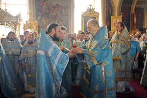 Митрополит Антоний возглавил торжества в честь престольного праздника Ахтырского кафедрального собора