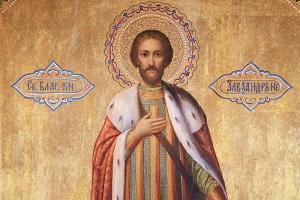 В день памяти блв. князя Александра Невского Архипастырь совершил литургию в Александро-Невском храме Орла