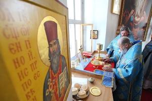 В праздник Рождества Пресвятой Богородицы Архипастырь посетил Болхов