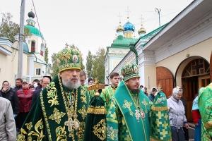 В день памяти преподобного Сергия Радонежского митрополит Антоний возглавил церковные торжества в Ливнах