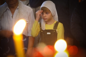 Архиерейская литургия в Казанском храме п. Стрелецкий в день престольного праздника. Фоторепортаж