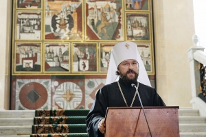 Митрополит Волоколамский Иларион прокомментировал подписание соглашения между Президентом Украины и Константинопольским Патриархом