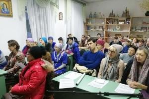 Лекции о православном богослужении в Иверском храме собирают аншлаг