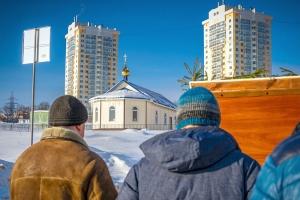 В областном центре состоялся традиционный Рождественский крестный ход