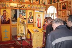 Священнослужители помогли осужденным подготовиться к Рождеству Христову