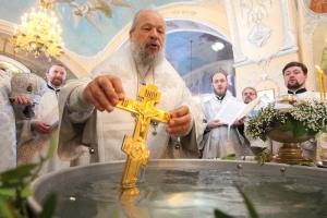 Богоявленский собор стал центром празднования Крещения Господня в Орловской митрополии