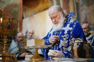 В послании Патриарху Варфоломею Предстоятель Русской Православной Церкви призвал его отказаться от участия в политической авантюре легализации раскола на Украине
