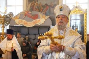 В канун Рождества Христова митрополит Антоний совершил богослужение Царских часов