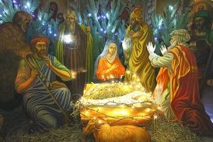 В канун Рождества Христова митрополит Антоний служил в Богоявленском соборе