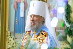 В праздник Рождества Христова орловские Архипастыри совершили великую вечерню в Михаило-Архангельском соборе