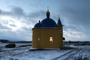 Чин освящения храма святителя Спиридона Тримифунтского в п. Спицино. Фоторепортаж