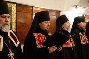 Наречение архимандрита Алексия (Заночкина) во епископа Мценского. Фоторепортаж