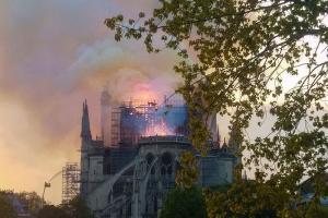 В Русской Церкви выразили поддержку французам после пожара в Нотр-Дам-де-Пари