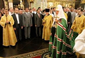 Патриаршее служение в Успенском соборе Кремля в день памяти святителя Филиппа, митрополита Московского. Фоторепортаж