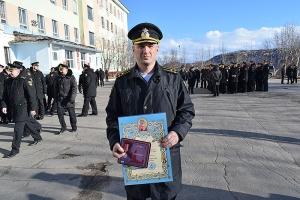 Командиру и экипажу подводной лодки «Орёл» вручены награды Орловской митрополии