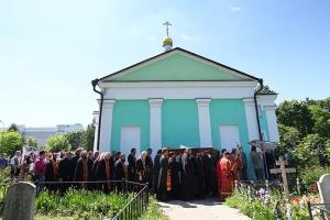 Состоялось отпевание и погребение протоиерея Марка Боронтова