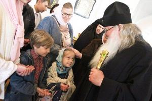 Митрополит Тихон впервые посетил Болховское благочиние с Архипастырским визитом
