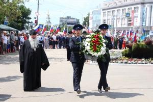 В День памяти и скорби в Орловской области прошла акция «Горсть Памяти» для Главного храма Вооруженных сил