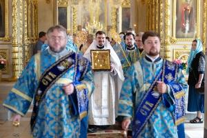 В день престольного праздника Ахтырского собора Владыка Тихон совершил иерейскую хиротонию